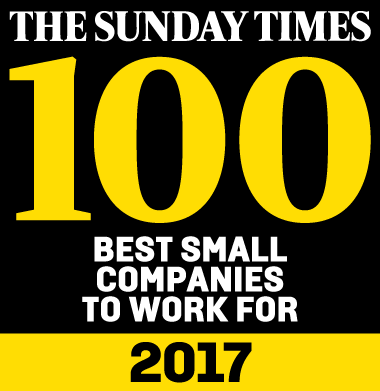 The Sunday Times - 100 Best Small Companies to Work For 2017