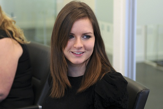 Amanda Bailey, Assistant Solicitor, George Davies Solicitors - Trainee of the Year Award Winner