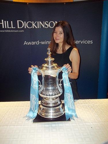 Christine Newton, Hill Dickinson - Asscociate of the Year Winner