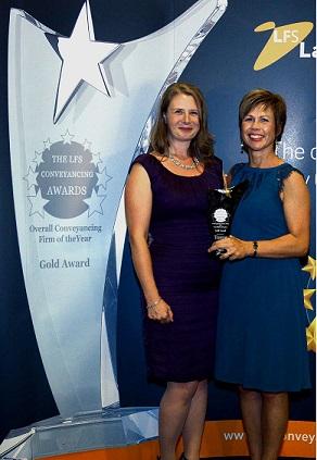 LFS Conveyancing Award winner Kathryn Simpson