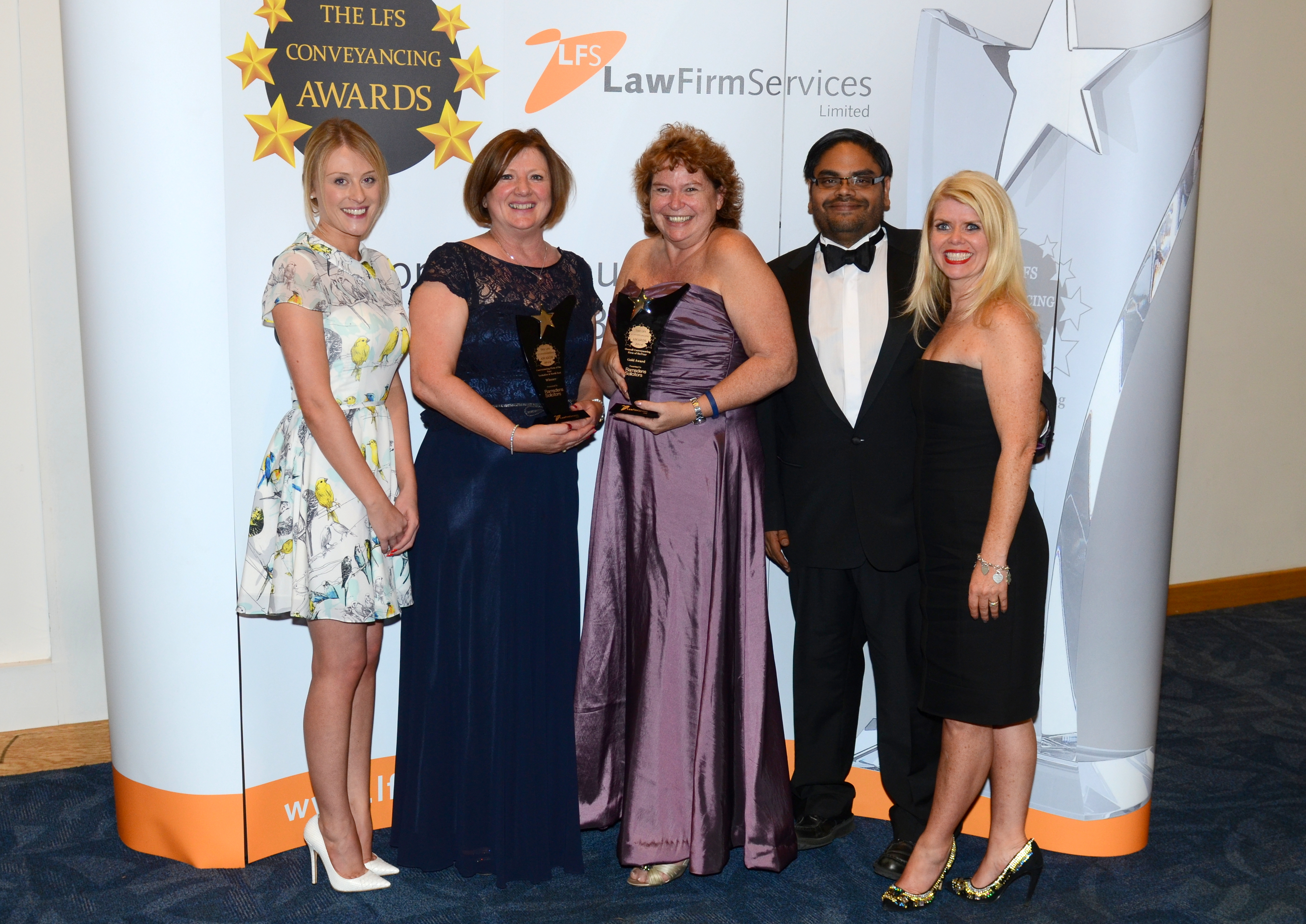 Karen James, Partner at Ramsdens - Overall Conveyancer of the Year & Yorkshire and North East Region winners